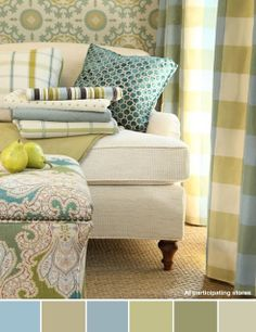 Beautiful Living Style: Color Inspiration. Click for paint colors.