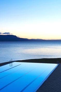 Hofsós, swimmingpool, Iceland