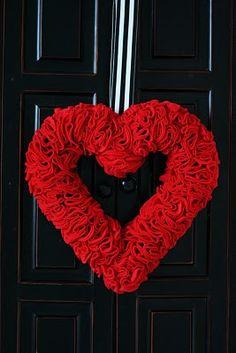 Valentines Day Wreath!