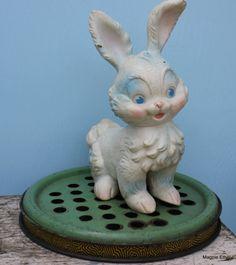 Vintage rubber bunny
