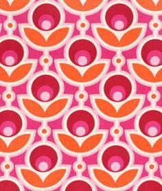 Joel Dewberry Primrose Magenta Fabric - $9.35 | onlinefabricstore.net