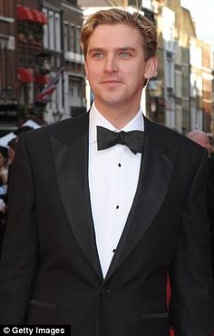 Matthew Crawley character on Downton Abbey played by actor Dan Stevens