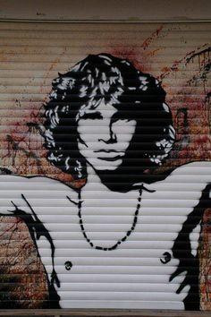 Dors graffitti street, street art, streetart
