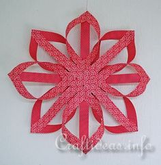 Finnish Paper Star Christmas Craft Project