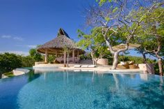 Villa Sheherezade  on the private island of Mustique.