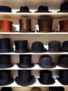 I want a closet, just full of hats.