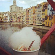 Ice-cream from Rocambolsec in Girona #InCostaBrava