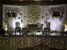 Wedding is the seating arrangement of Bride and Groom or the Wedding Stage