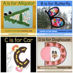 Alphabet Art, letters A-Z