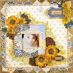 Dream Layout by Lisa Gregory using 4 different collections by BoBunny. #BoBunny @starsailor