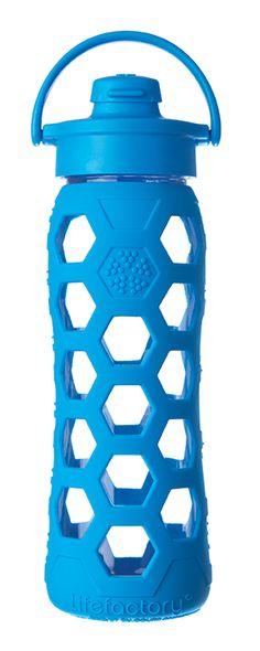 Lifefactory Bottle | Portable Eco-Friendly Glass Bottle | Editor's Picks | Organic Spa Magazine