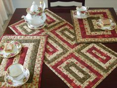 Table runner/placemats