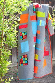 . colour glow, cheer quilt, cotton, squar, colors, finish quilt, block quilt, color inspir, rectangl quilt