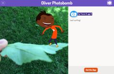 Trevor K, age 9, recently sent in this photo of Oliver leaf surfing to Plum! Send your own nature photos to Plum using Plum's Photo Hunt App: http://pbskids.org/apps/plums-photo-hunt.html #nature #outdoors #kids #family #naturerocks #PBSKIDS @PBS Parents pbskid, plum land, outdoor kid, pbs kid, kid famili