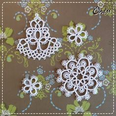 Beautiful tatting tat lace, craft, tat motif, beauti tat