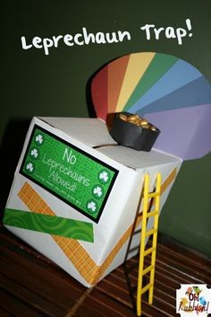 The Leprechaun Trap! I wanna do this with Broc!