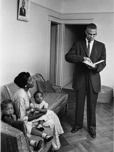 """Malcolm X and Betty Shabazz were champions of black freedom and equality in America. In 1955 the two met at a dinner party where they shared stories of their experiences of racism. """"I really had a lot of pent-up anxiety about my experience in the South,"""" Shabazz said in a 1990 interview, """"and Malcolm reassured me that it was understandable how I felt."""" After a long courtship, the two wed in 1958 and had six daughters."""