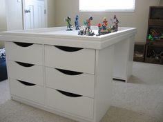 great lego storage!
