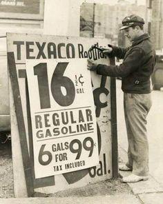 Gas prices 1939 Pre-Obama