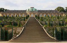 Sanssouci Palace - Potsdam, Germany