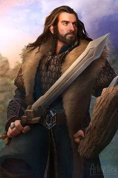 Thorin Oakenshield by NaSyu.deviantart.com on @deviantART