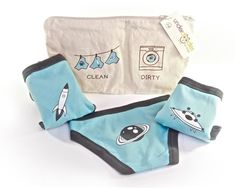 This is like the best ever underwear for kids. Thick, organic, soft, and hey! Rocket ships!