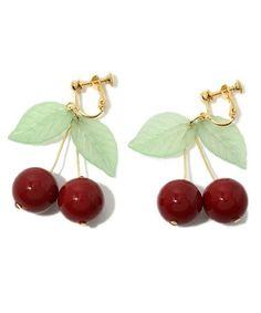 Cherry earrings!