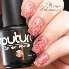 Couture Gel Polish Fireworks Swatch  #soakoffgel #gelpolish