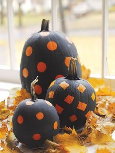 These no-carve pumpkins are simple and sweet!