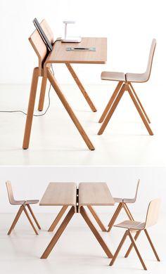 Hay furniture line for the University of Copenhagen | Designer: Ronan and Erwan Bouroullec