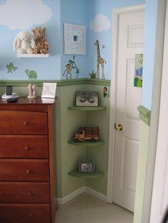 Corner space design - excellent!
