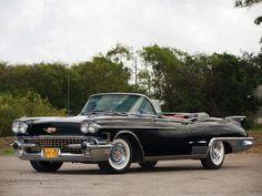 vintag, race car, classic car, american, biarritz convert, street car, cadillac eldorado, eldorado biarritz, 1958 cadillac