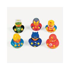 Super Hero Rubber Duckies - OrientalTrading.com 6.00