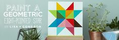 Learn How to Paint a Geometric Star