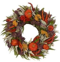 Tuscan Herb Wreath For Kitchen