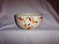 Vintage Superior Jewel Tea Autumn Leaf Bowl by Mary Dunbar Jewel Homemaker Inst