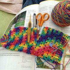#Crochet socks from crochet_ali