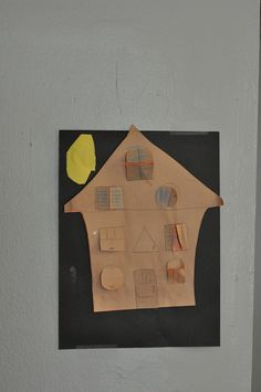 construction paper haunted house (open the doors and make various scenes).