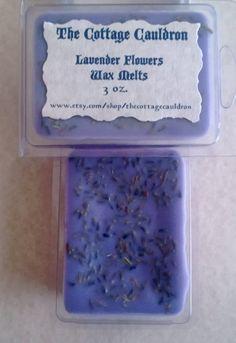 Lavender Flowers Herbal Wax Melts