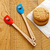 Sesame Street™ Mini Silicone Spatula Set Cookie Monster & Elmo-  take home gift with cookies to be made