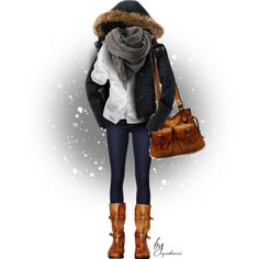 """Winter"" by cynthia335 on Polyvore"