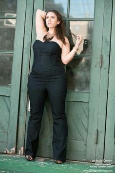 Plus size model Emma Myers as seen in August 2011 issue of PLUS Model Magazine