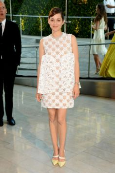 """2014 CFDA Awards, Marion Cotillard in Dior 
