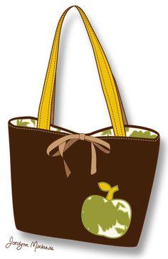 The Jordy Bag - Free Pattern by Jordynn Mackenzie