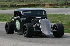 Another former #OUSCI will be hitting the auction block at Barrett-Jackson, Bret Voelkel's 1933 Ford 3-window custom coupe