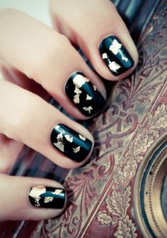 Gilded nails
