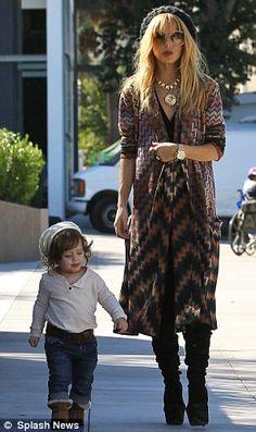 street fashion, futur sondaught, rachel zoe, celebr momsdad, longer dress