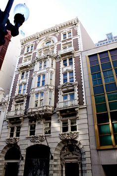 New Orleans facades