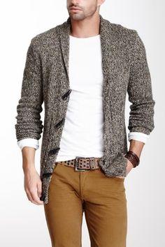 Civil Society Wool Blend Sweater Cardigan