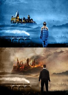 HP - Always. I cried the first time I saw the promo posters with Hogwarts on fire. It broke my little Muggle heart.